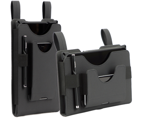 waist band tablet and phone carrier