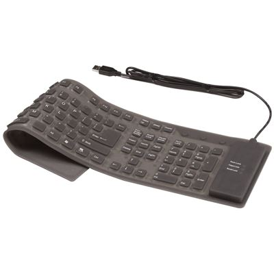 Picture of Flexible Full-Size Mobile Keyboard