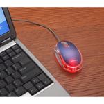Picture of Three Button Optical USB Laptop Mouse