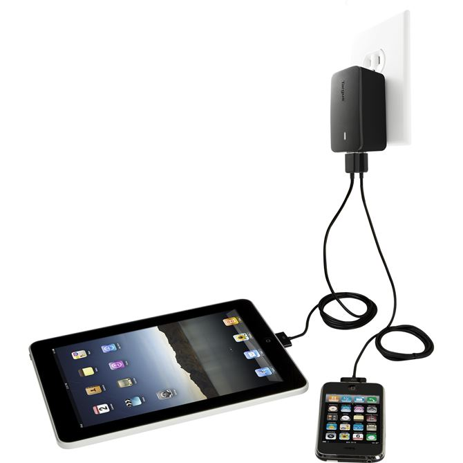 Picture of Dual Charger for iPad®