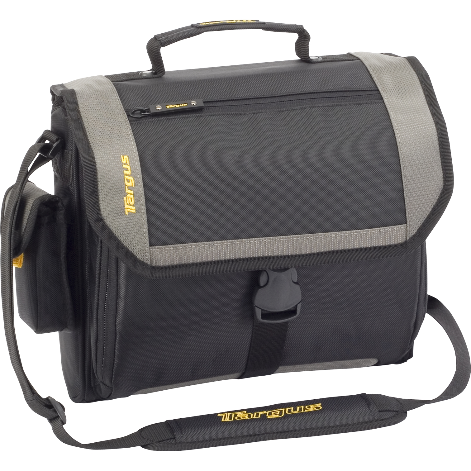 "14"" CityGear Atlanta Messenger - TCG213T - Black/Gray: Messengers ..."