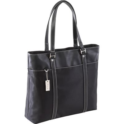 "Picture of 15.4"" Deluxe Tote w/ SafePort Air Protection Cushioning"