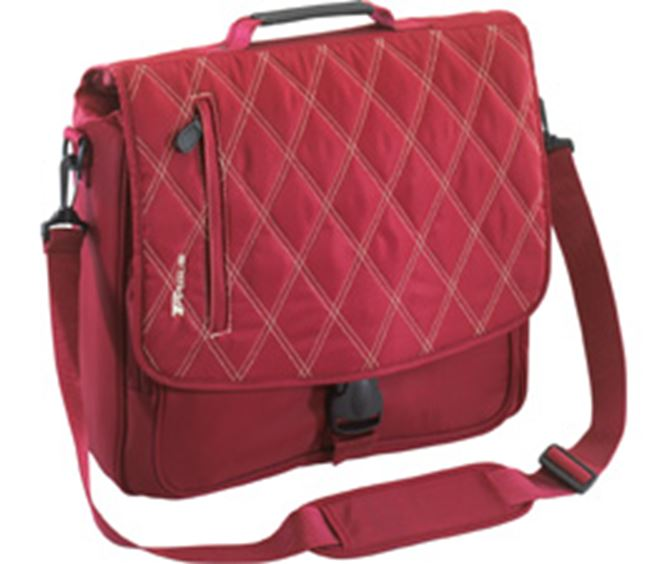 "Picture of 15.4"" Quilted Messenger Laptop Case"