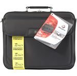 """Picture of 16"""" Traditional Clamshell Case with Zip-Thru Checkpoint Friendly Design"""