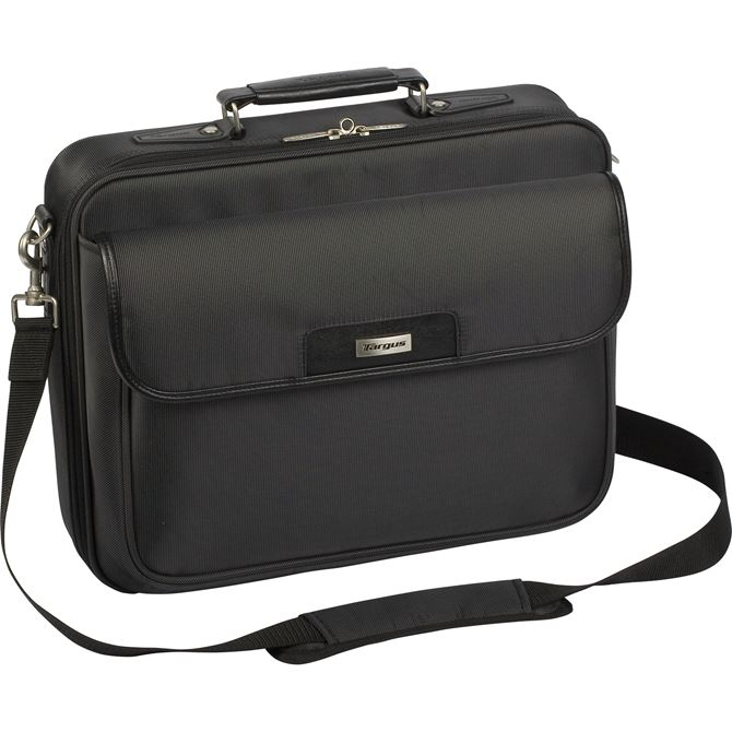 "Picture of 16"" Traditional Clamshell Case with Zip-Thru Checkpoint Friendly Design"