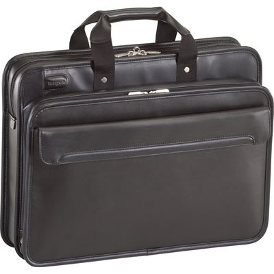"Picture of 16"" Commuter™ Leather Laptop Case"