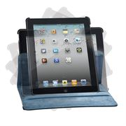 Picture of Versavu™ Case & Stand for iPad 2 (Black/Blue)