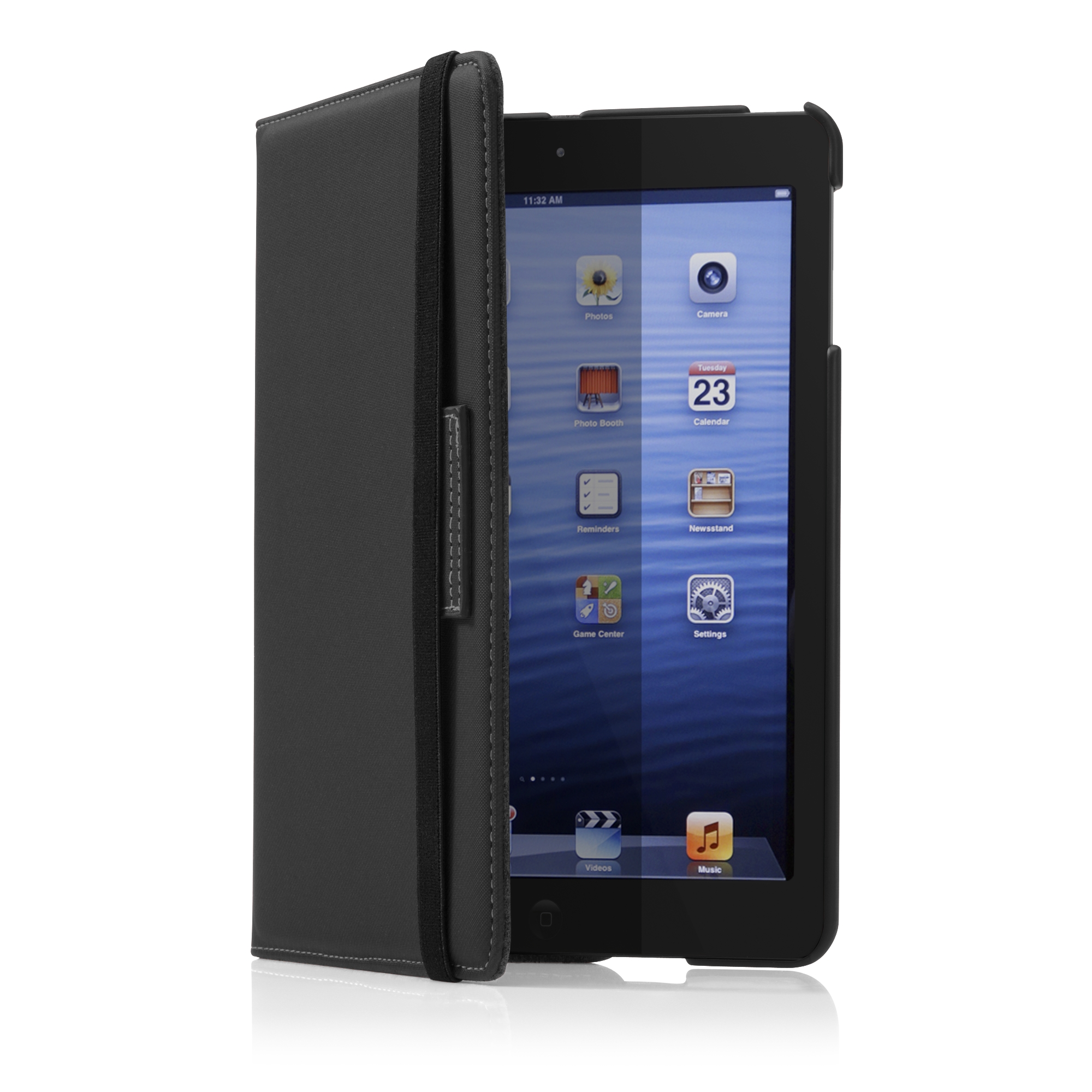 Versavu Rotating Case And Stand For Ipad Mini Thz183us