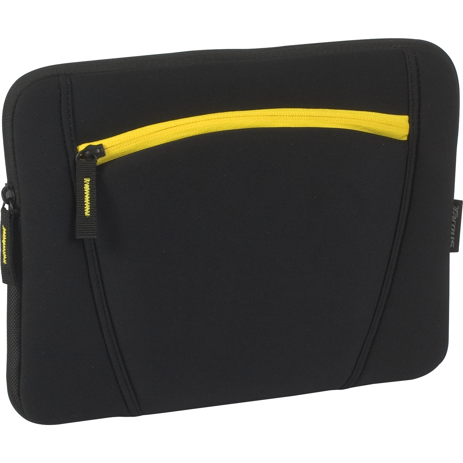 13 sleeve with accessory pocket for macbook pro tss283us black sleeves targus. Black Bedroom Furniture Sets. Home Design Ideas