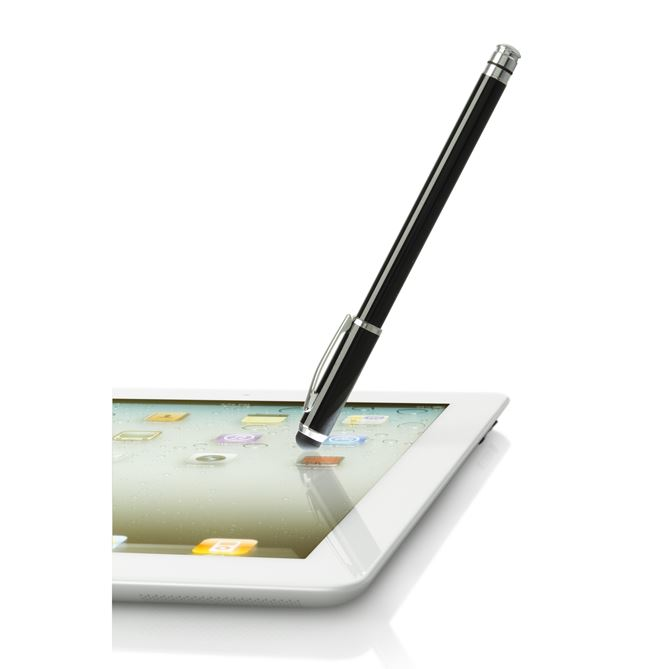 Picture of 2-in-1 Stylus for Tablets, iPad, iPhone, Smartphones and more