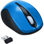Picture of Wireless Optical Laptop Mouse (Blue)