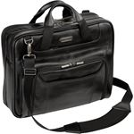 """Picture of 14"""" Leather Corporate Traveler Laptop Case"""