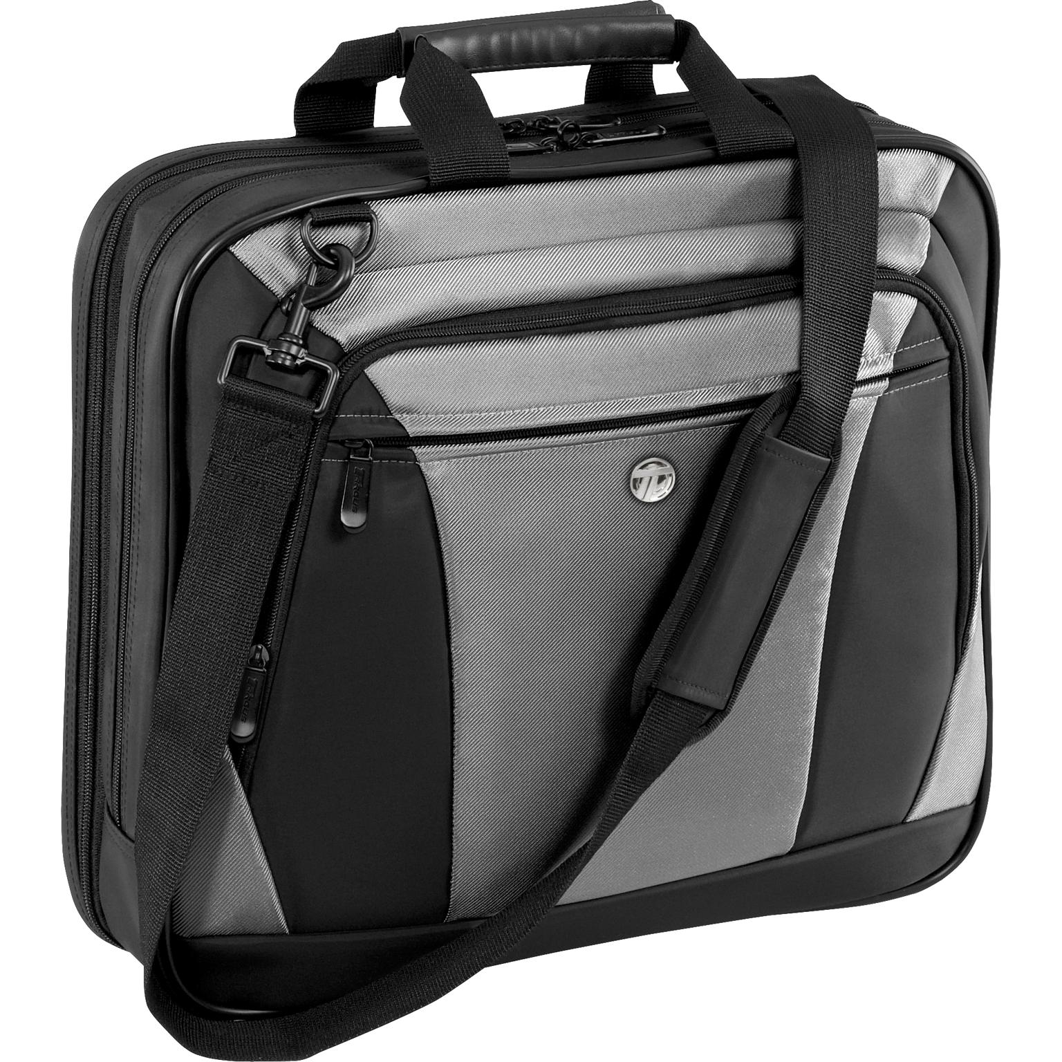 "15"" CityLite Laptop Case - CVR400 - Black/Gray: Briefcases: Targus"