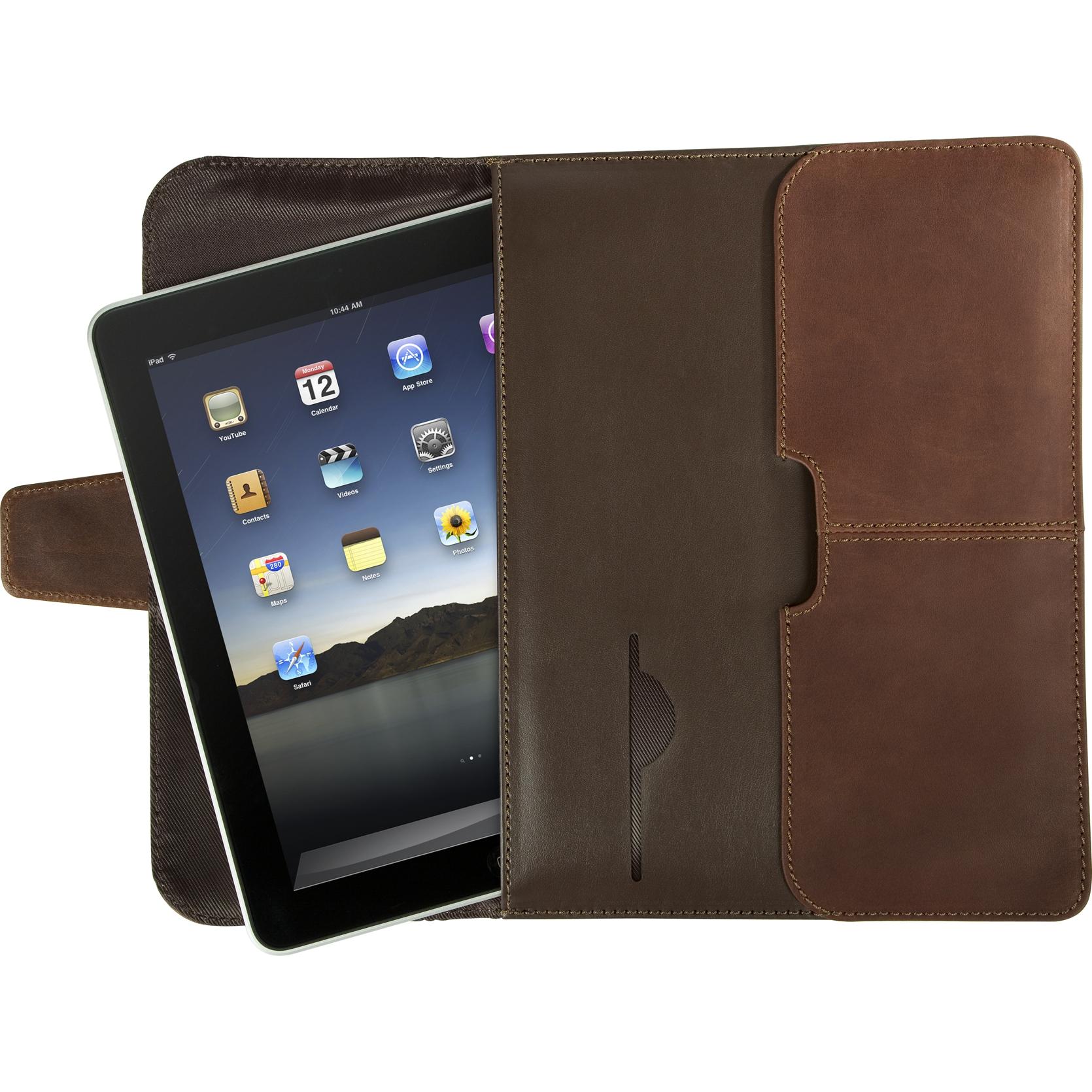 Hughes Leather Portfolio Slipcase For Ipad Tes01001us