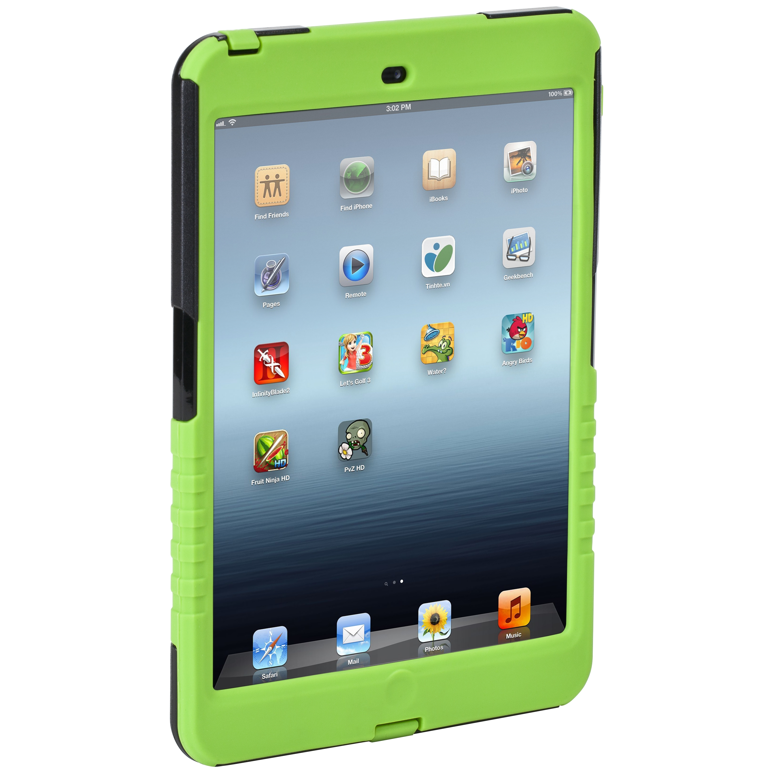 Safeport 174 Rugged Case For Ipad Mini Thd04705us Green