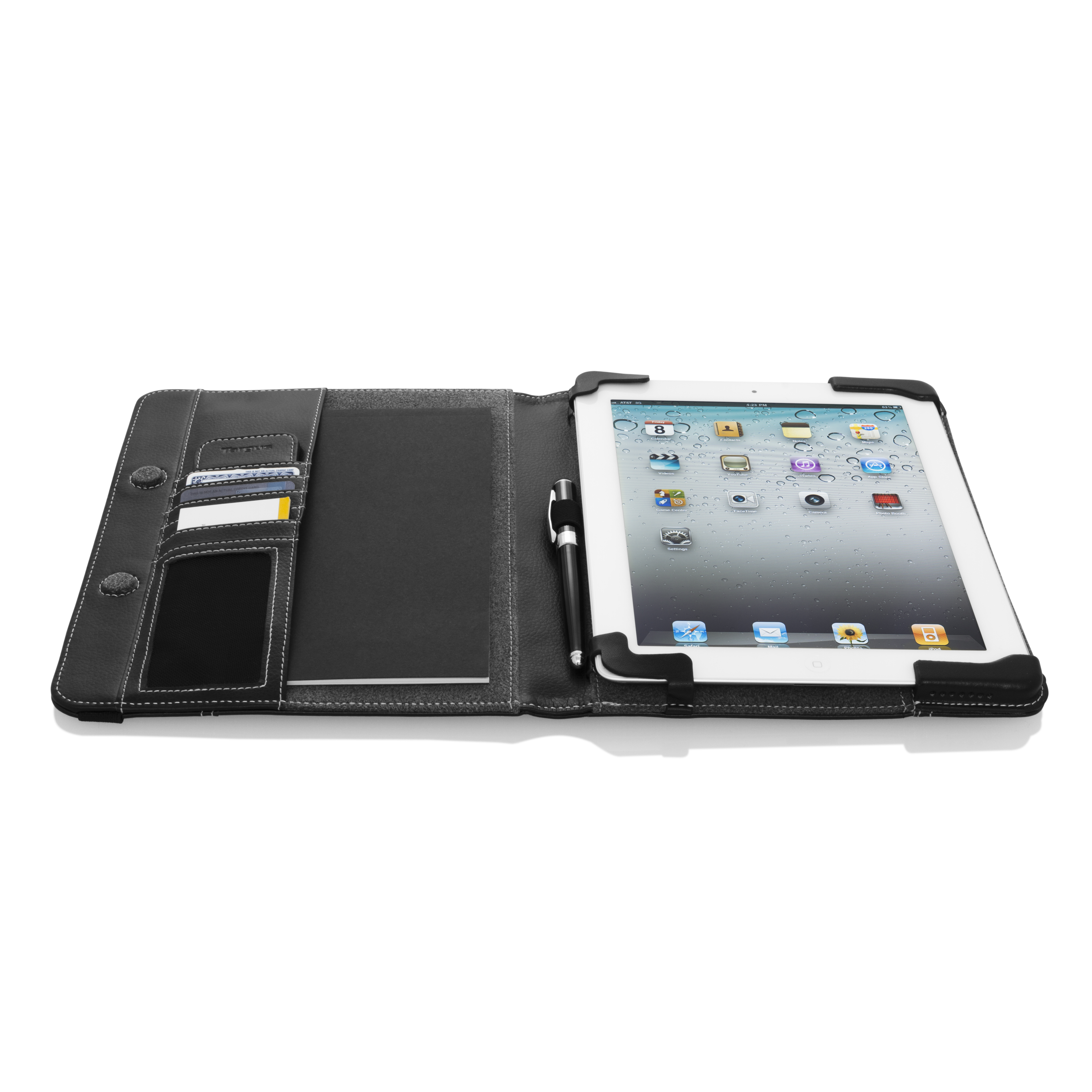Business Folio Case & Stand for iPad 2, 3, and 4 - THZ15502US ...