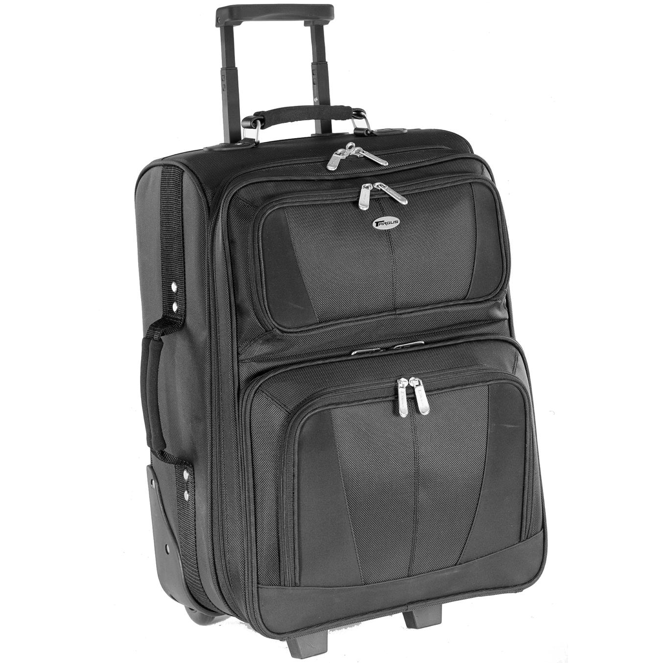 17 Trademark Ii Overnight Rolling Laptop Case Tm2900 Black Rollers Targus