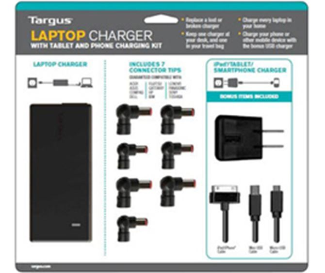 Picture of Laptop Charger with USB Fast Charging Port