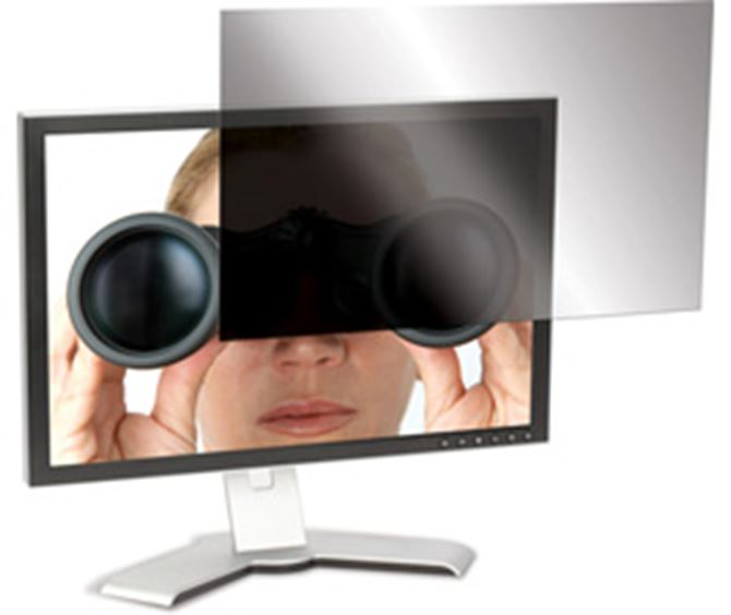 "Picture of 19"" 4Vu Widescreen Monitor Privacy Screen"