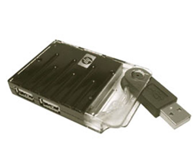 Picture of HP Slim 4-Port USB 2.0 Pocket Hub