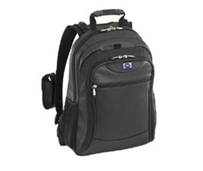 "Picture of HP 15.4"" Evolution Leather/Nylon Backpack"