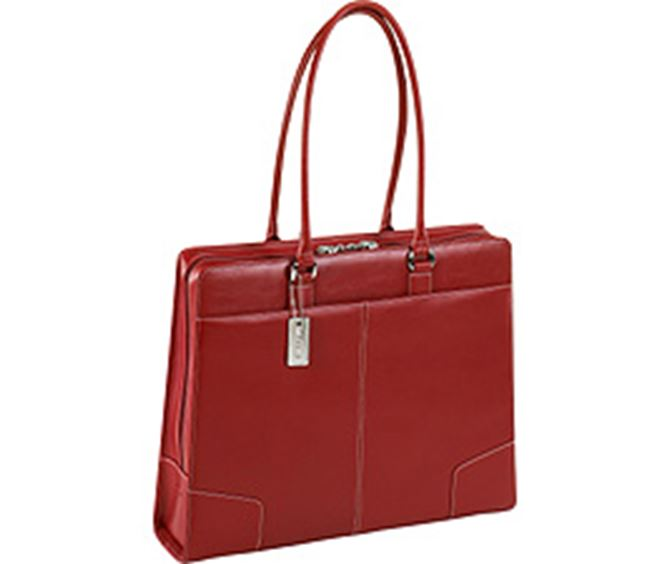 "Picture of 15"" Elegant Leather Tote"