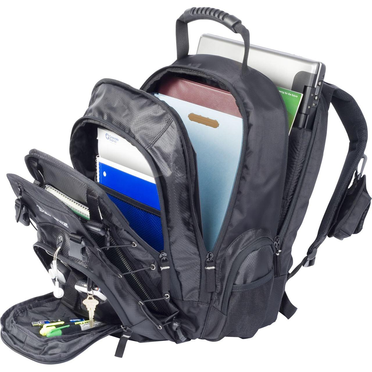 "15.4"" M1000 Laptop Backpack - RG0322 - Black: Backpacks: Targus"