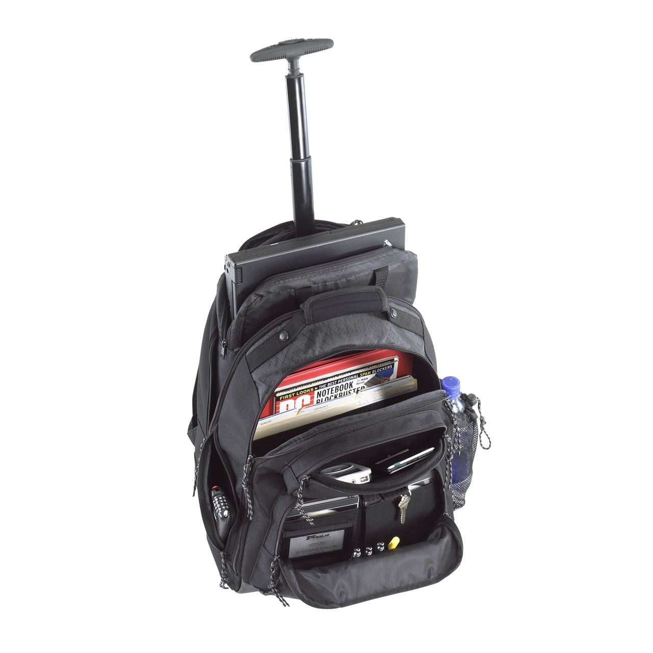 "15.4"" Rolling Laptop Backpack - TSB700 - Black: Rollers: Targus"