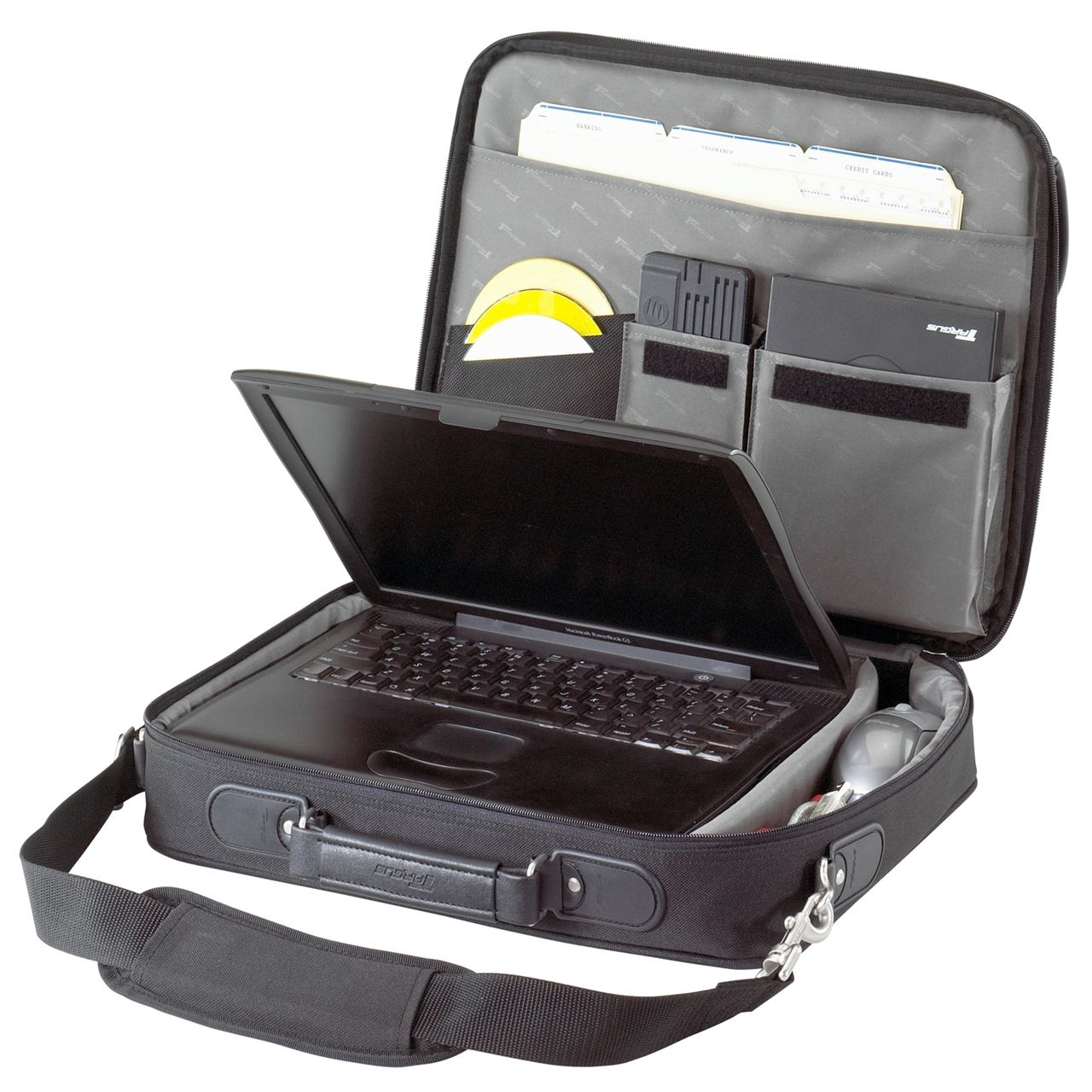 """15.6"""" Traditional Notepac Laptop Case - OCN1 - Black: Briefcases: Targus"""