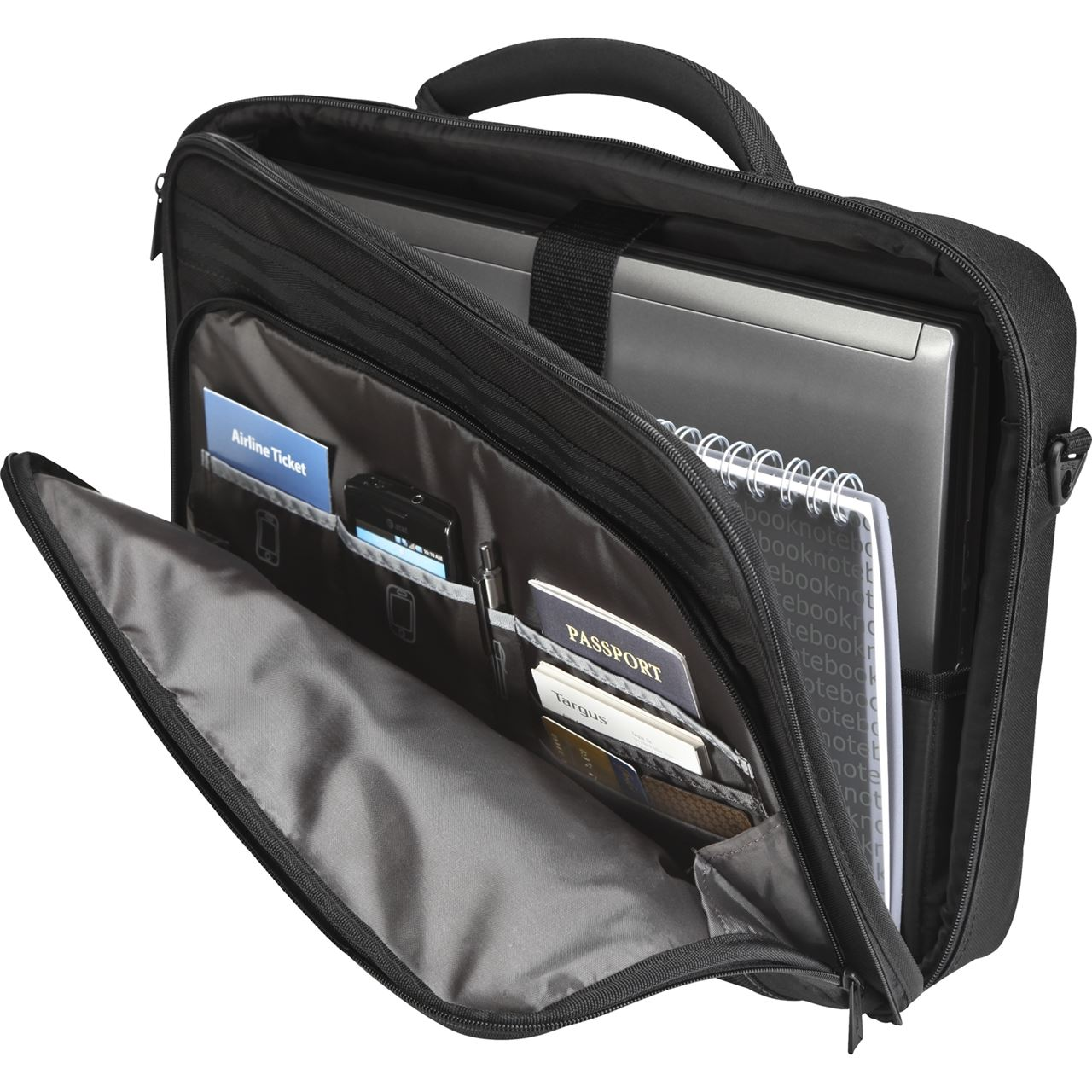 Targus Classic Clamshell Laptop Case Notebook Carrying
