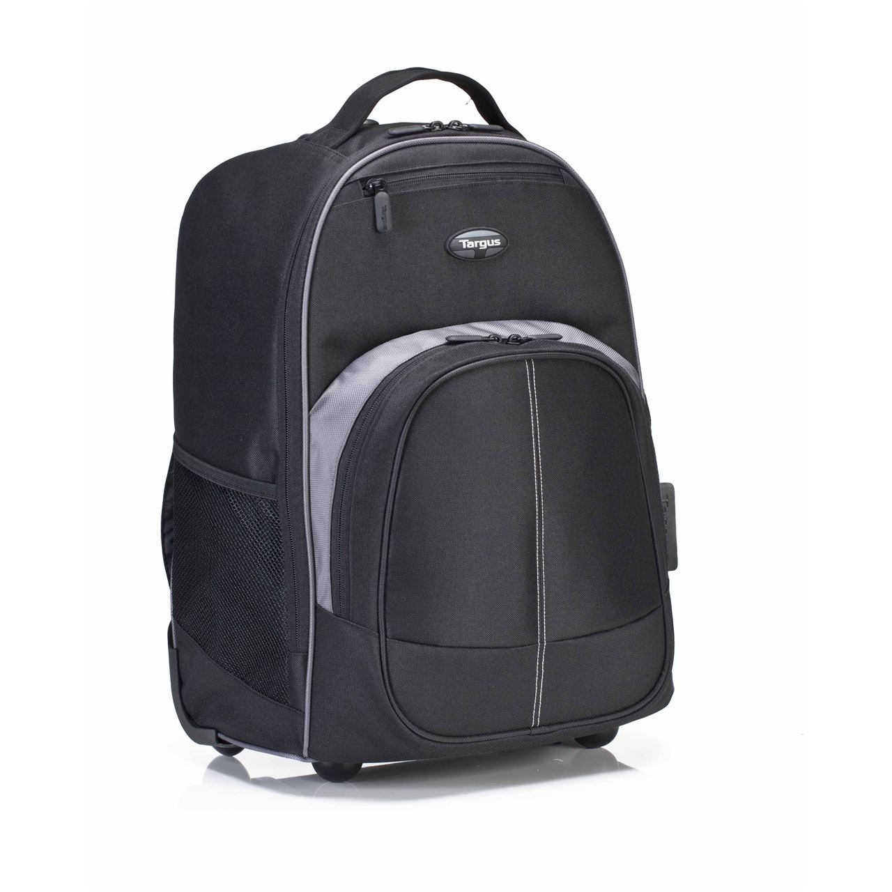 "16"" Compact Rolling Backpack - TBR015US - Black: Rollers: Targus"