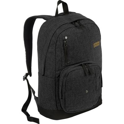 "Picture of 16"" Denim Laptop Backpack (Black)"