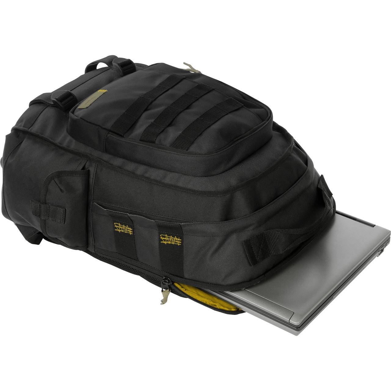 """16"""" Military Laptop Backpack - TSB175US - Black: Backpacks: Targus"""