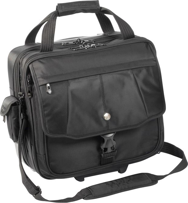 "Picture of 15.4"" Blacktop Rolling Laptop Case"