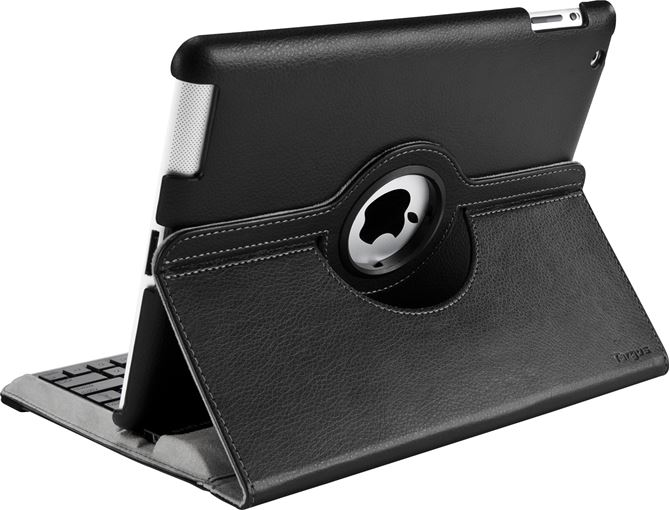 Versavu 360 176 Rotating Keyboard Case For Ipad 2 3 4