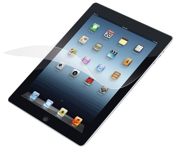 Picture of Screen Protector with Bubble-Free Adhesive for iPad® 2, 3 & 4