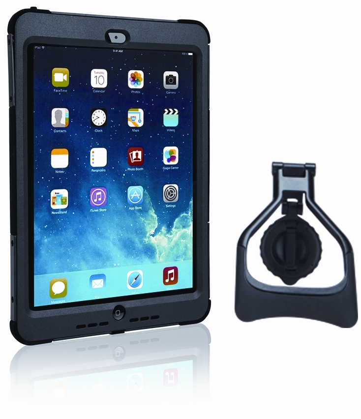 Picture Of Safeport Rugged Max Pro Case With Rotating Stand For Ipad Air