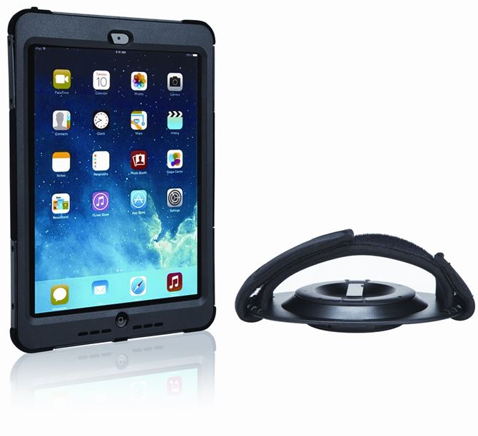 Picture of SafePort® Rugged Max Pro Case with Hand Strap for iPad Air