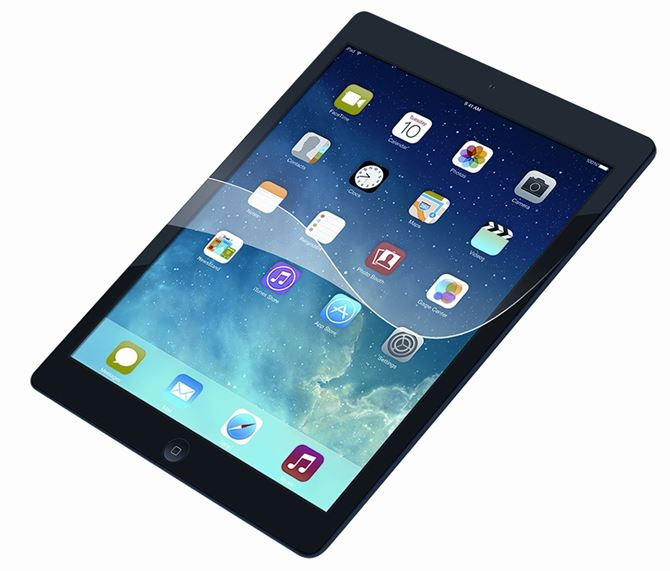 Picture of Screen Protector for iPad® (2017/2018), 9.7- inch iPad Pro™, iPad Air® 2, and iPad Air