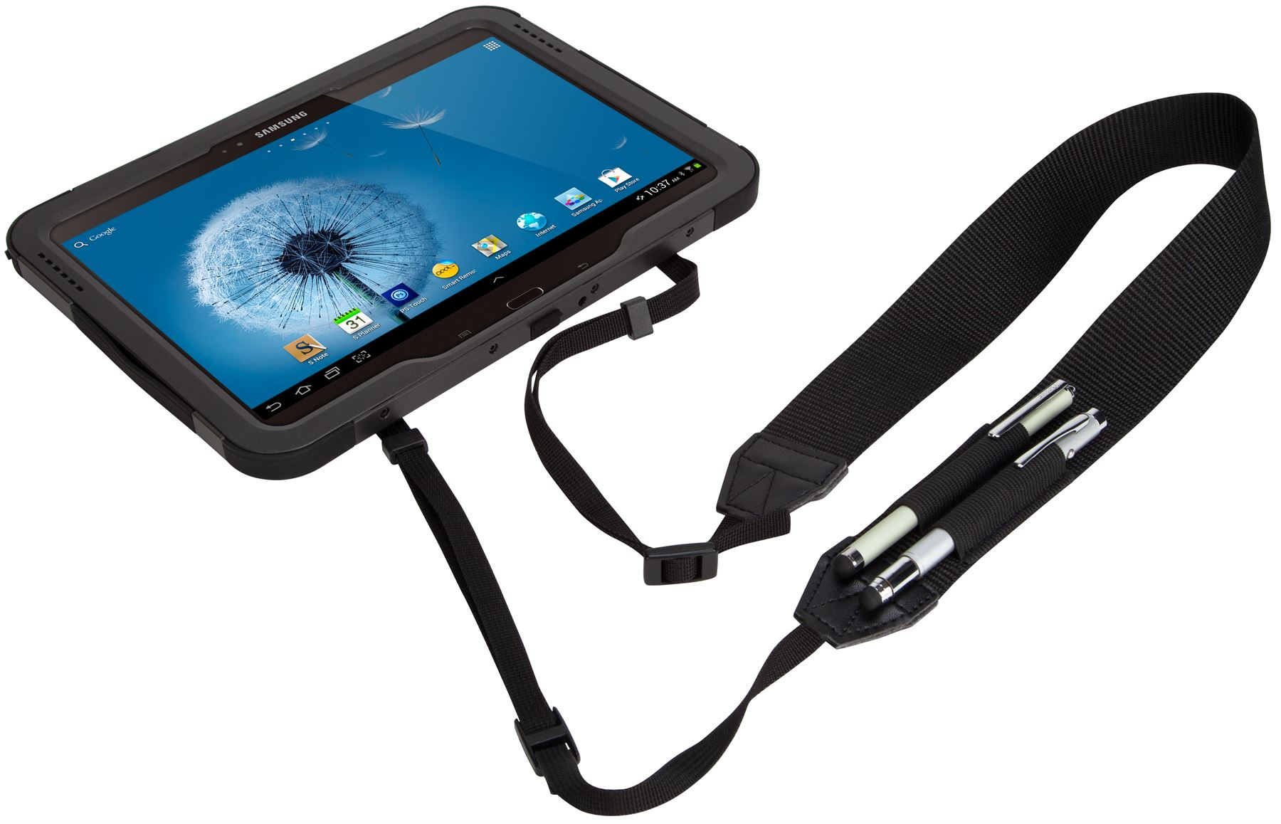 Safeport Rugged Max Pro Case For Samsung Galaxy Tab 3 10 1 Thd102us Black Tablet Cases Targus