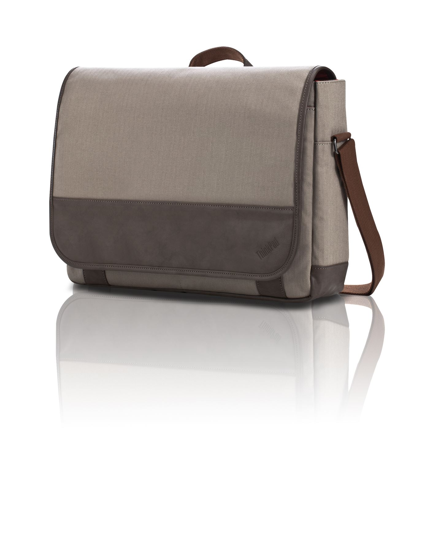 ThinkPad® Casual Messenger Bag - 4X40E77334 - Tan: Messengers: Targus