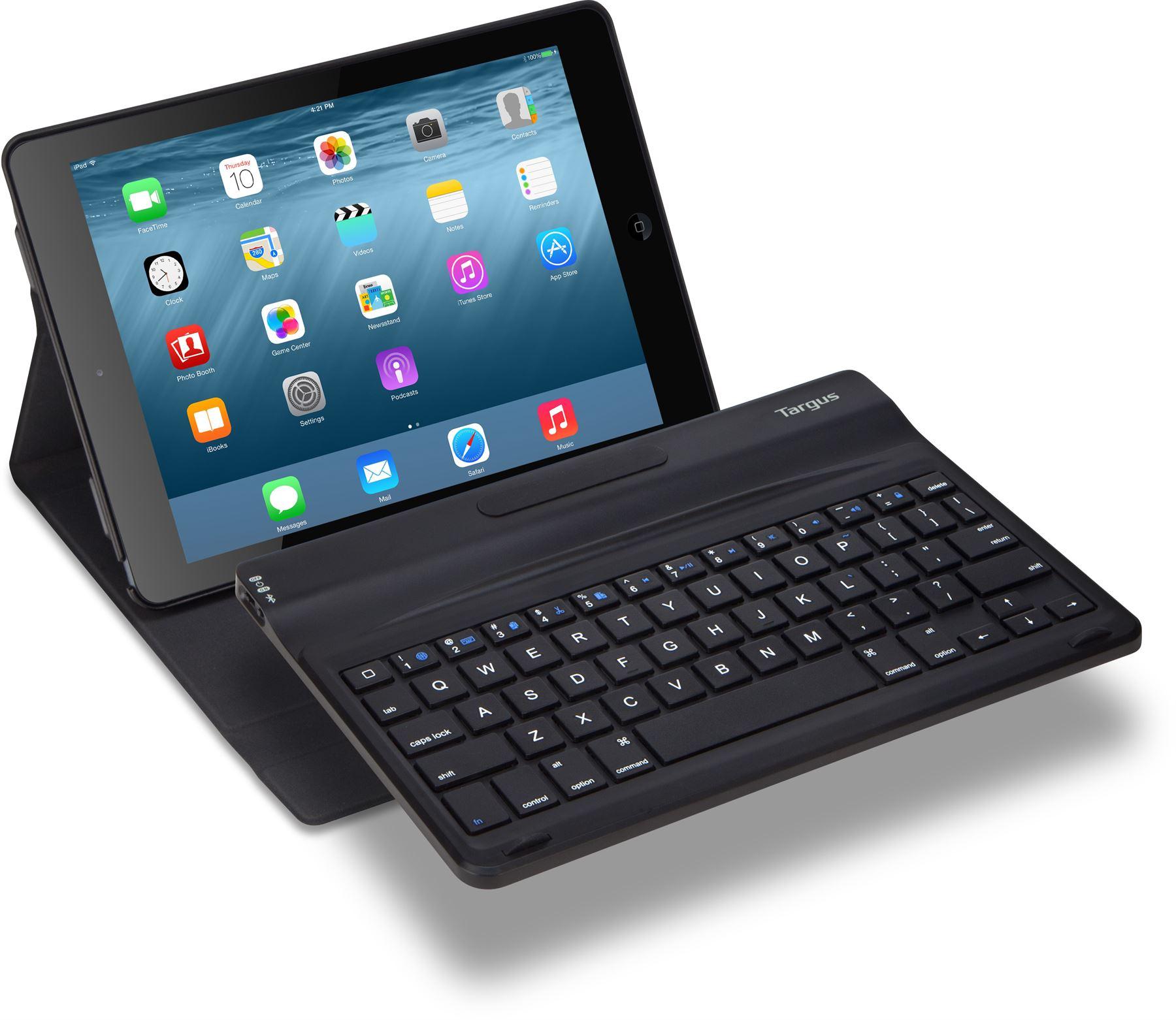 versavu 360 folio keyboard case for ipad air 2 thz540us. Black Bedroom Furniture Sets. Home Design Ideas