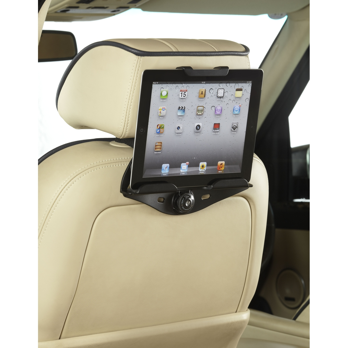 in car mount for ipad 7 10 tablets. Black Bedroom Furniture Sets. Home Design Ideas