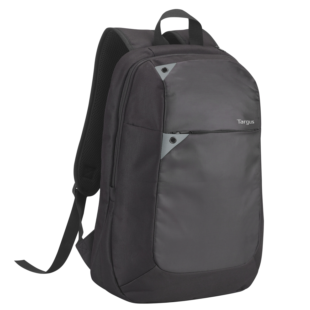 Picture Of Intellect 15 6 Laptop Backpack Black Grey
