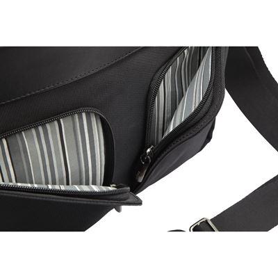 """Image sur Lomax Mallette pour Ultrabook™ et MacBook® 13,3"""" - Noir"""