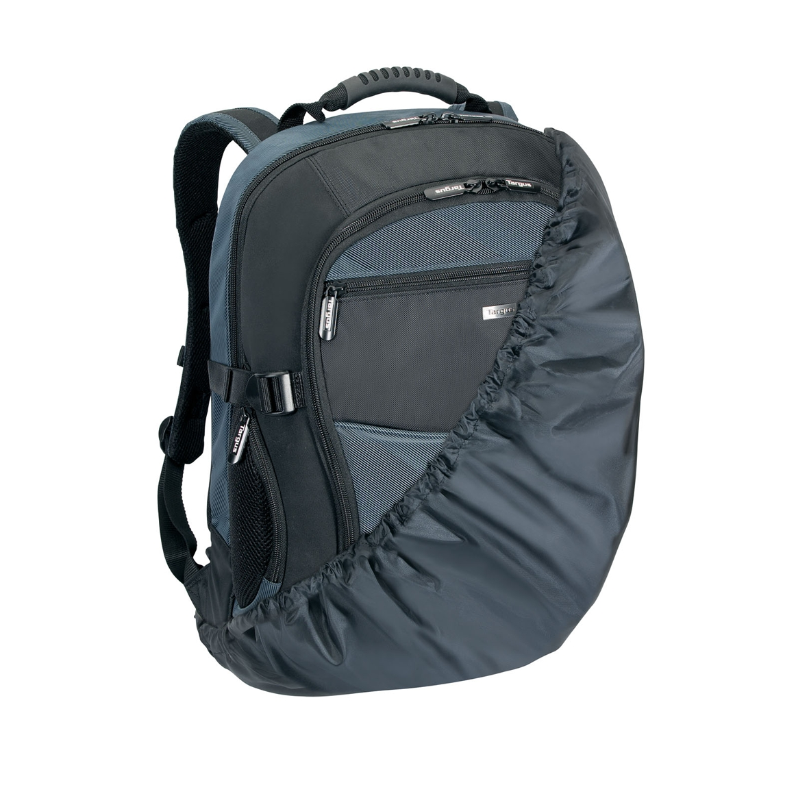 atmosphere sac dos pour ordinateur portable taille 17 18 noir bleu. Black Bedroom Furniture Sets. Home Design Ideas