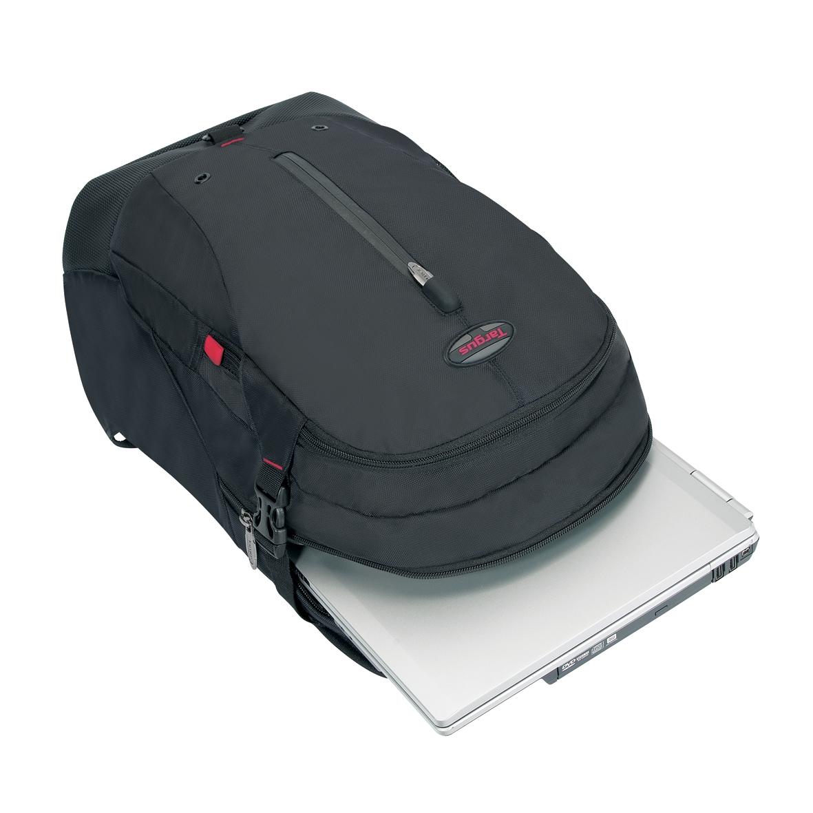 terra sac dos pour ordinateur portable 15 16 noir. Black Bedroom Furniture Sets. Home Design Ideas