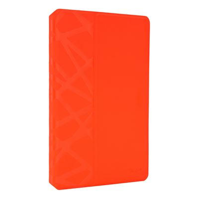 Picture of EverVu™ Case and Stand for iPad Air 2 - Fiesta Red w Beam Debossed