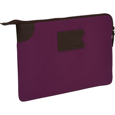 "Picture of Targus 13"" Banker Sleeve for MacBook Pro® and Ultrabooks(Magenta)"