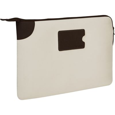 "Picture of Targus 11.6"" Banker Sleeve for MacBook® Air and Ultrabooks (Bone White) **Discontinued Soon**"